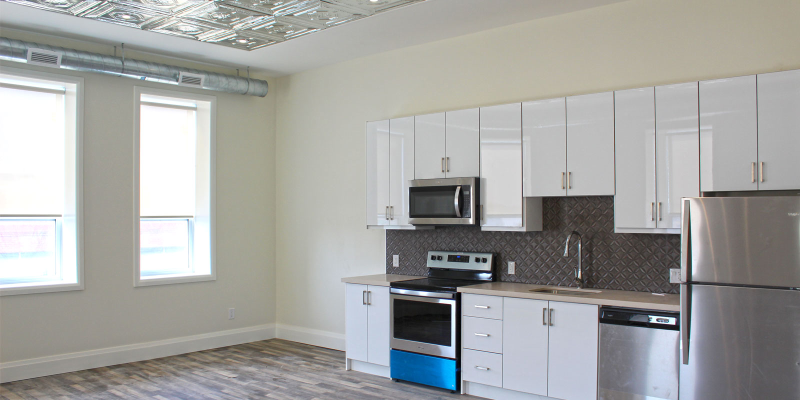 interior of apartment at New Victoria Place in Downtown Brantford
