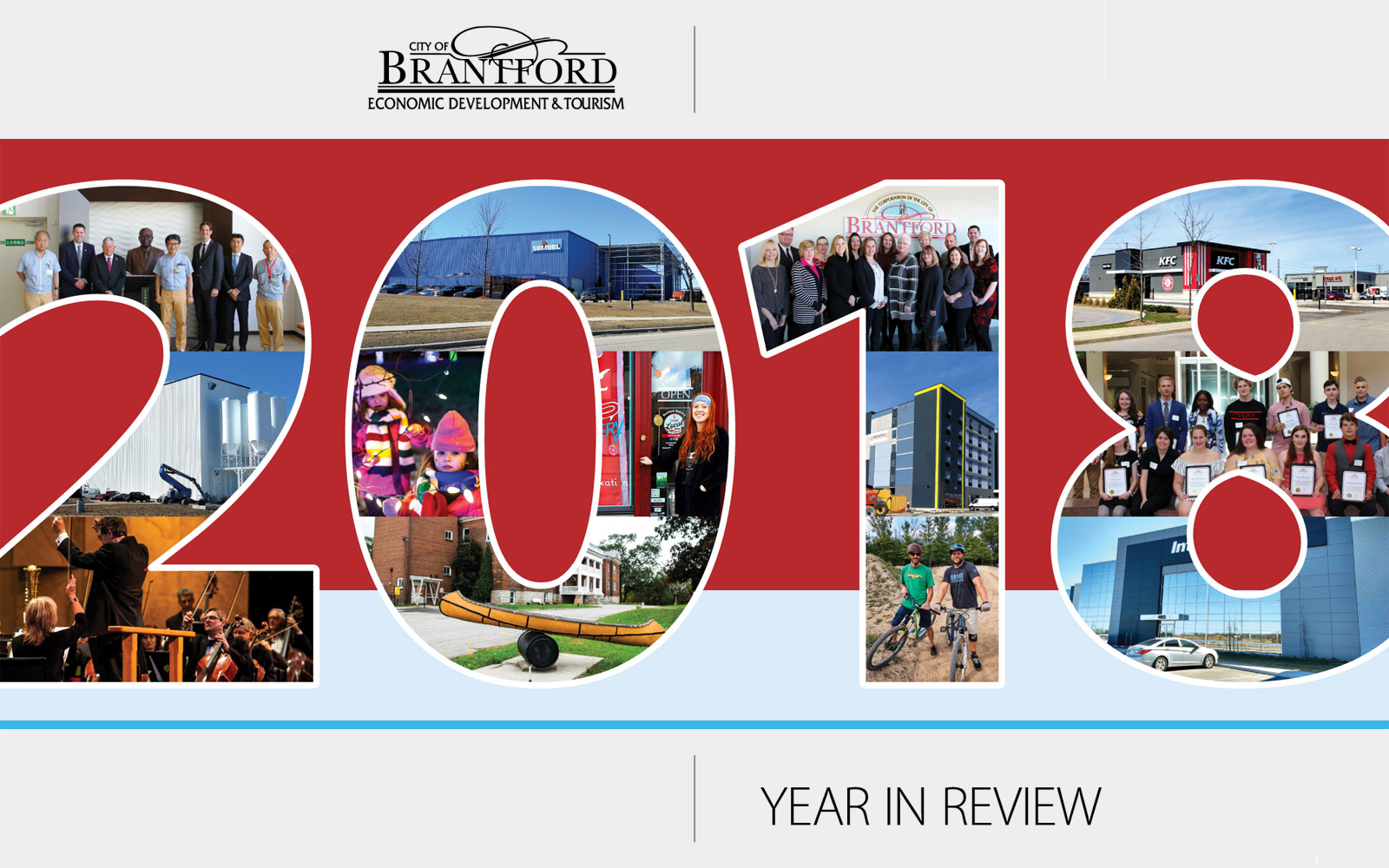 2018 Economic Development and Tourism Year in Review Report Cover