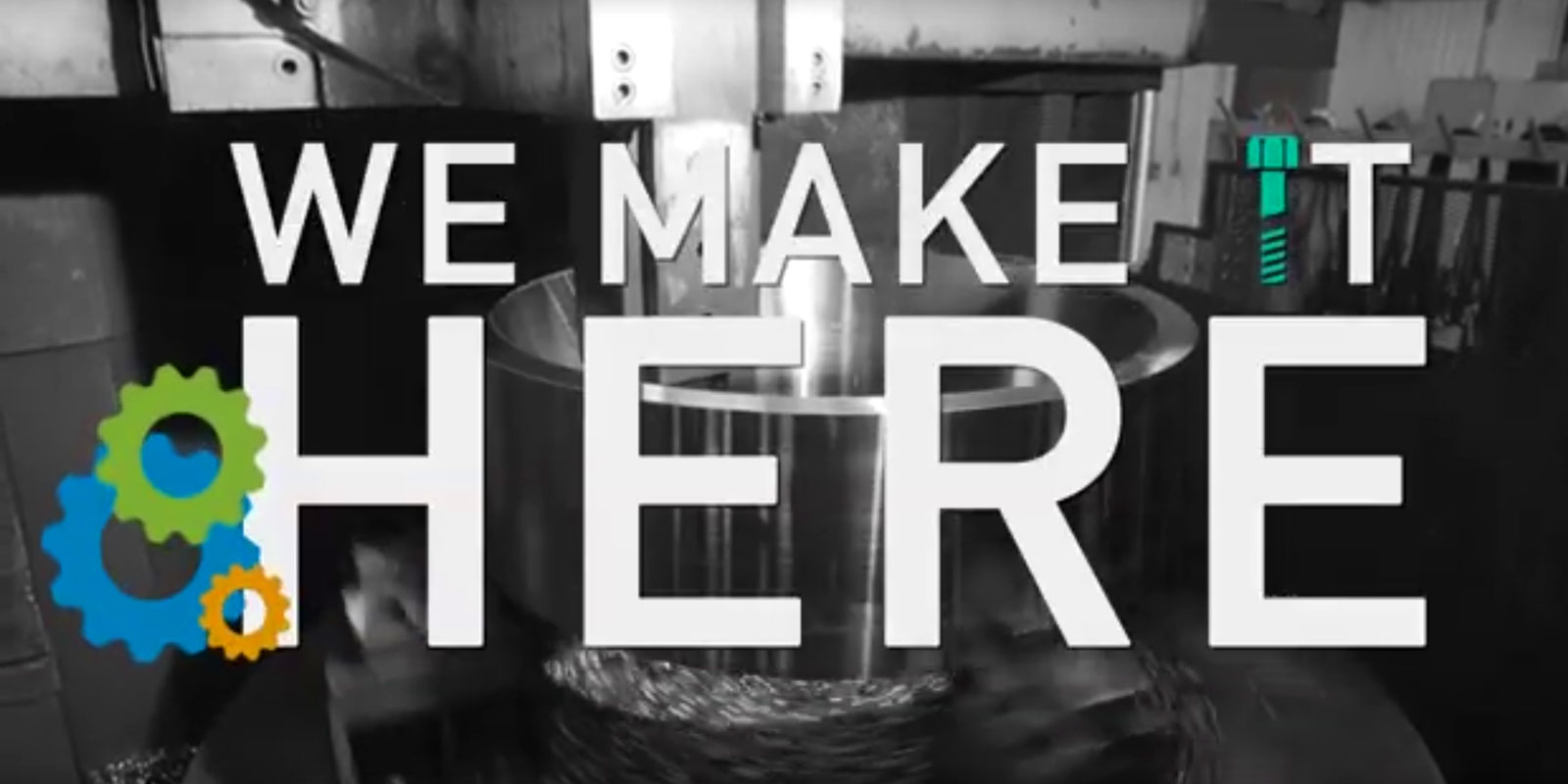 logo of the We Make It Here video