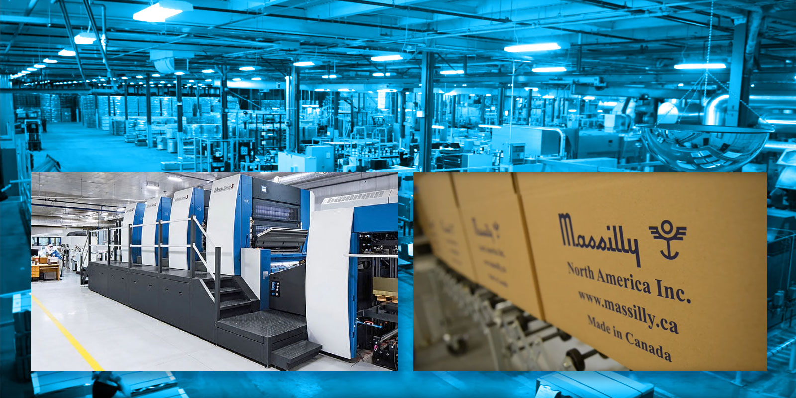 equipment, package, and machinery at Massilly North America