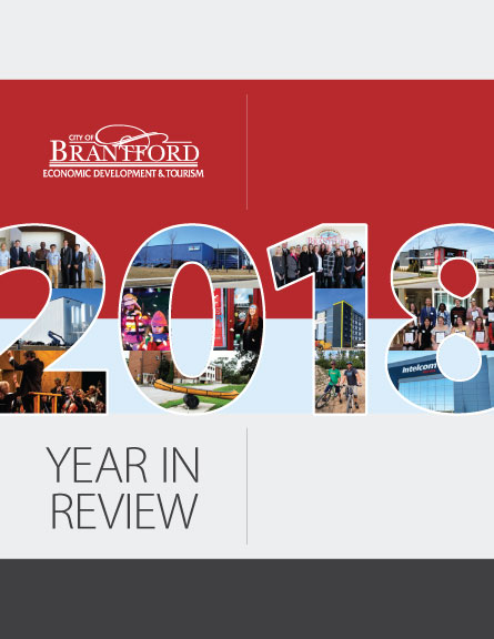 cover of the Economic Development and Tourism Dept. Year in Review 2018